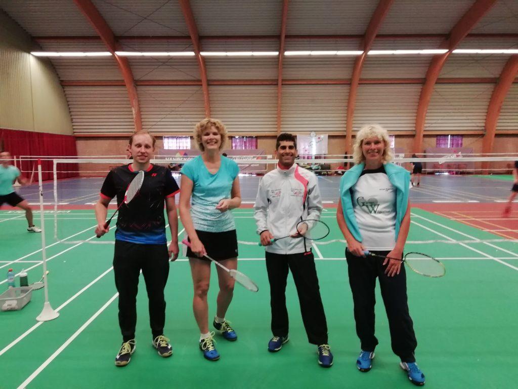 Badmintonclub Lansingerland bij het Drop Shot Zomertoernooi 2020