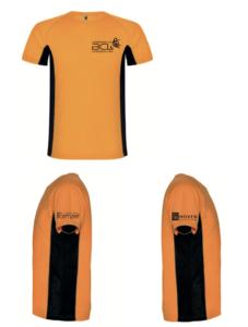Badminton shirt van Badmintonclub Lansingerland