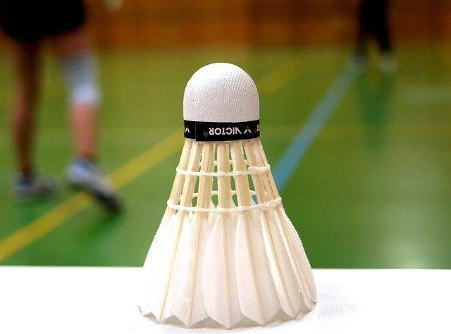Badminton shuttle binnen sporthal - Badmintonclub Lansingerland